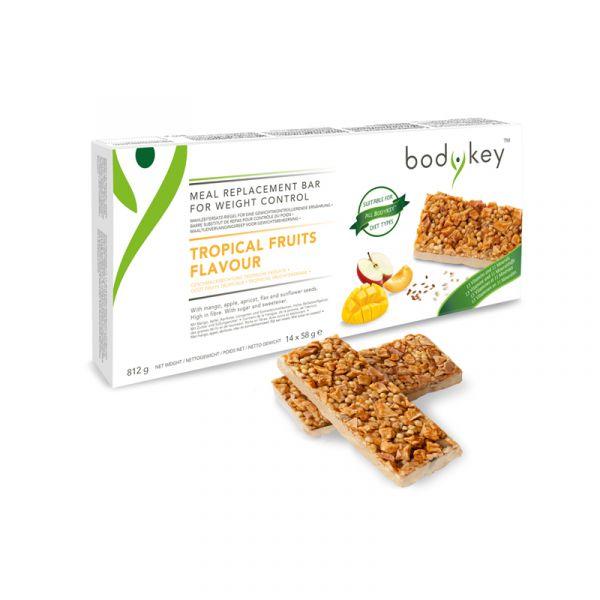 bodykey by NUTRILITE™ Mahlzeitersatz-Riegel – Tropische Früchte