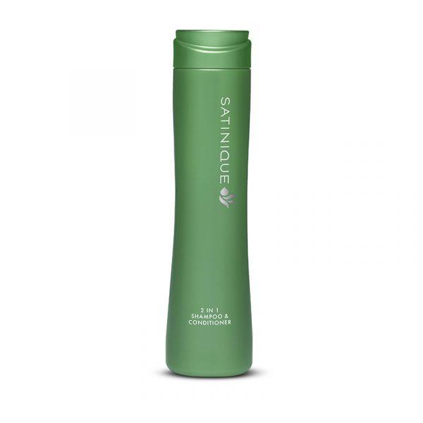 2-in-1 Shampoo und Pflegespülung SATINIQUE™